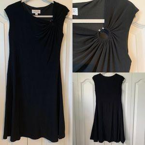 NWOT Kasper Black Formal Dress - Size 4